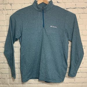 Columbia Mens Lightweight Fleece Pullover 1/4 Zip